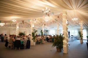 anniversaries party at Selden Barns Venue